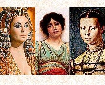 Макияж глаз у женщин Египта, Древнего Рима и средневековья