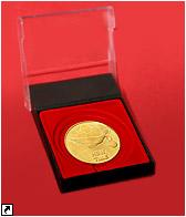 Gloryon награжден Золотой медалью III Международного Салона изобретений и новых технологий *Новое время* как разработчик идей, которые *будут играть роль скачка в развитии человечества*